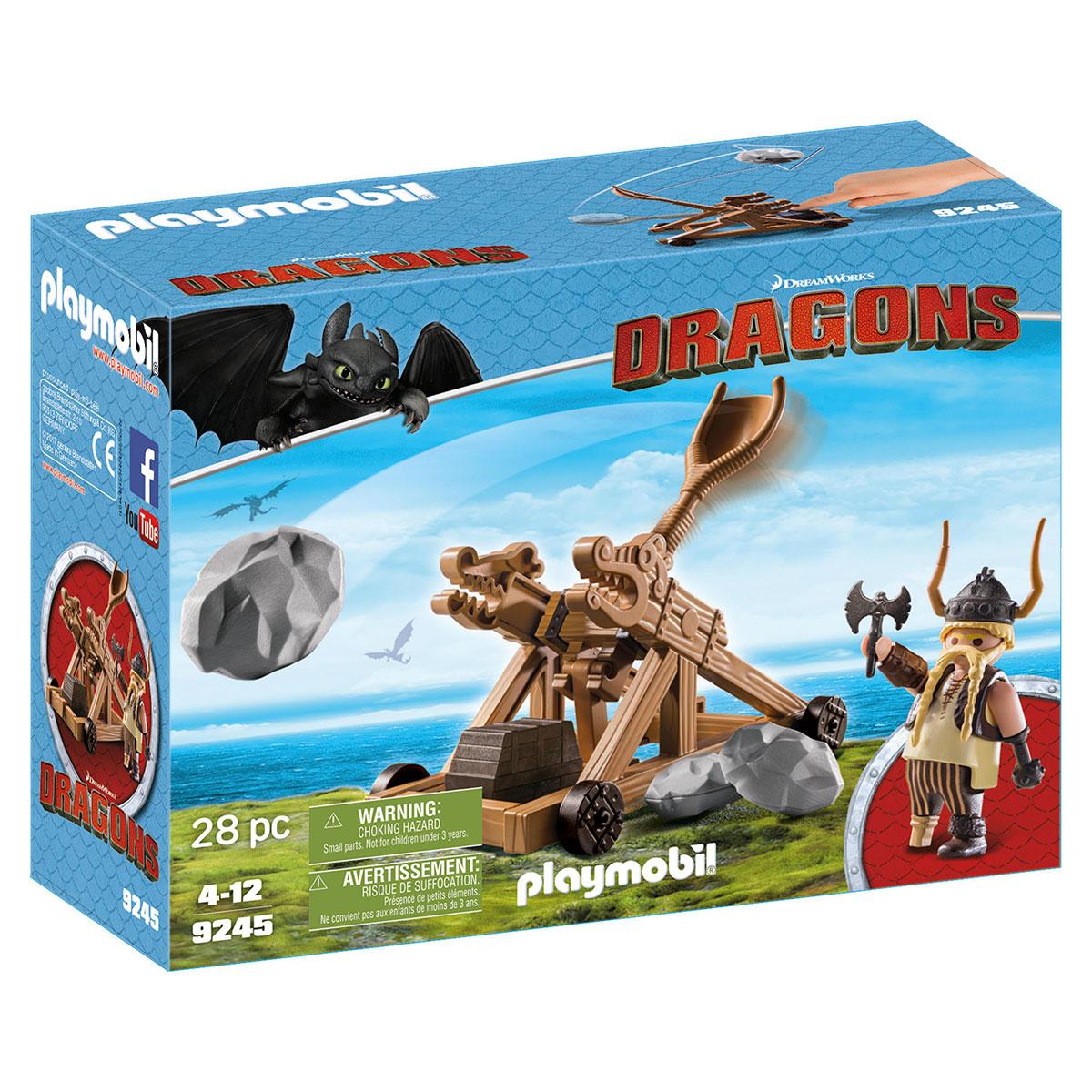 Billede af Playmobil Gorbert med katapult