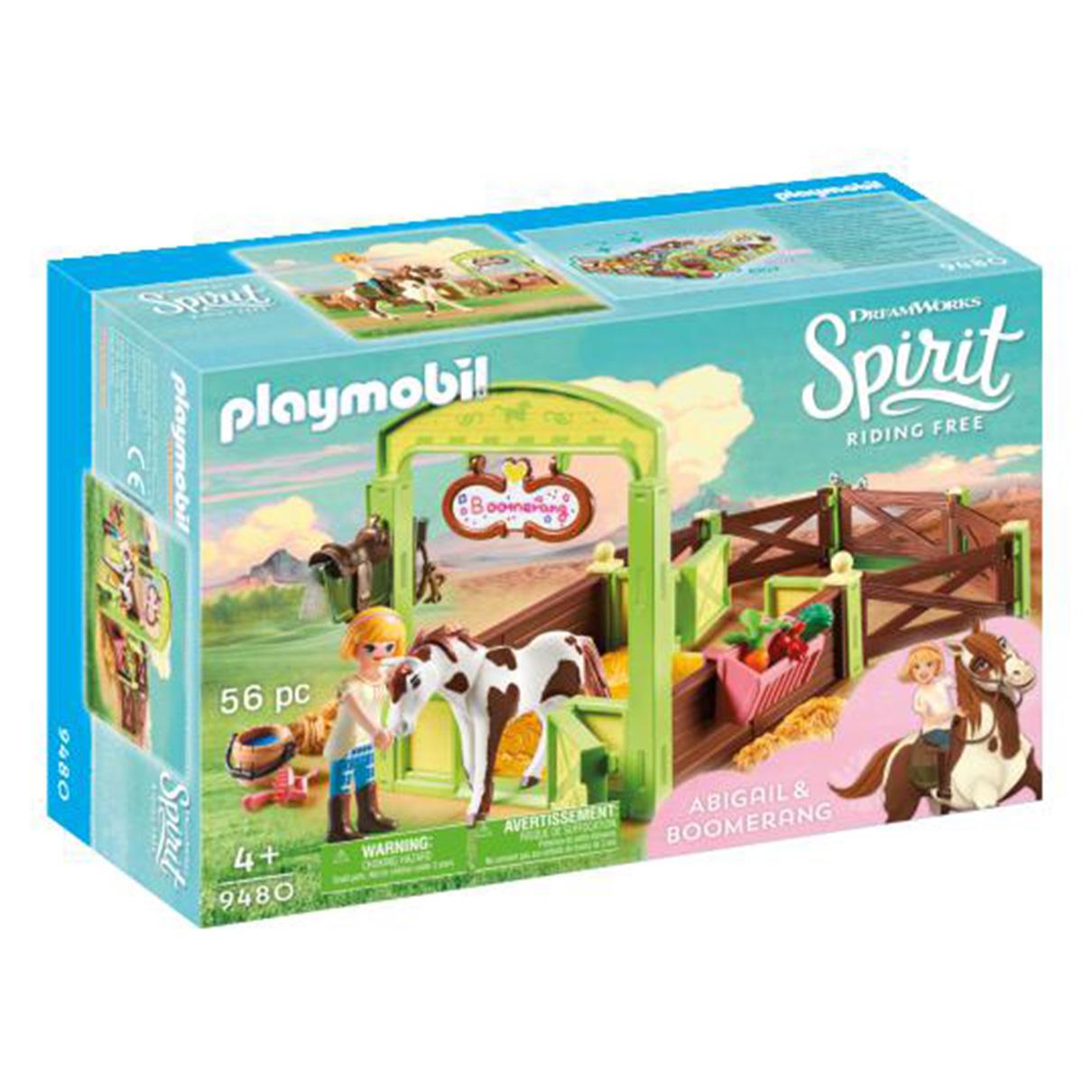 Billede af Playmobil Hesteboks Abigail & Boomerang