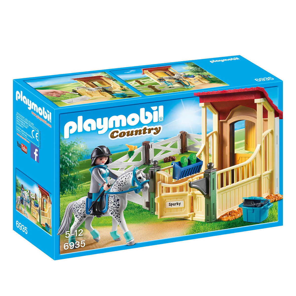 Image of   Playmobil hesteboks - Appaloosa