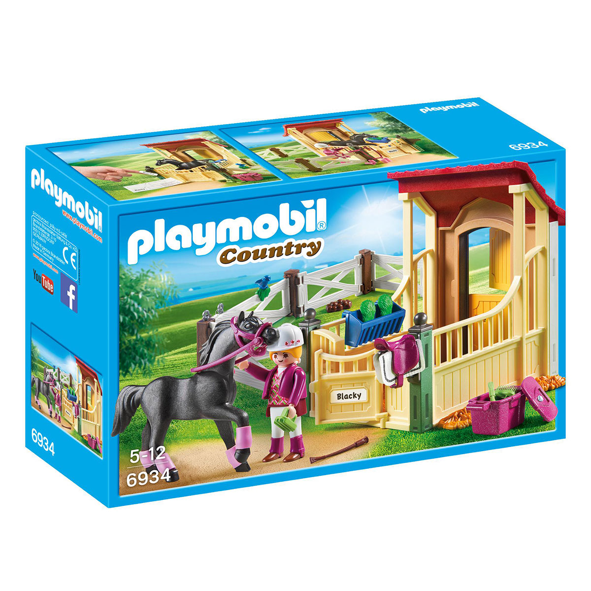 Image of   Playmobil hesteboks - Araber
