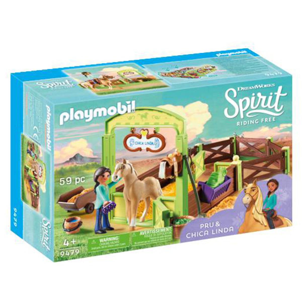 Image of   Playmobil Hesteboks Pru & Chica Linda