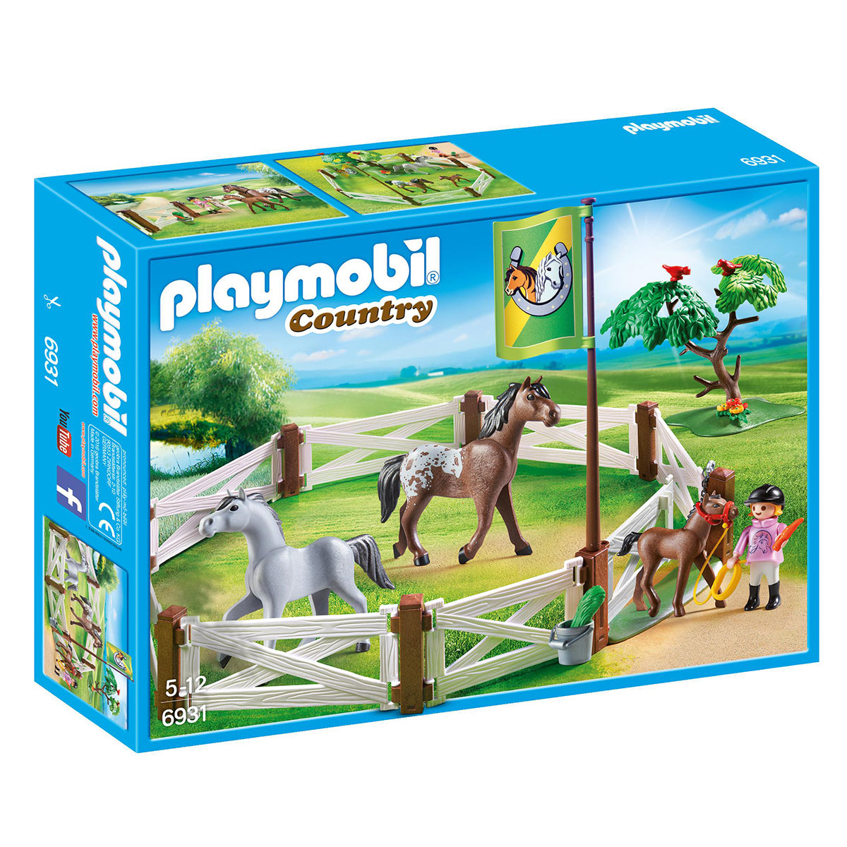 Image of   Playmobil hestefold