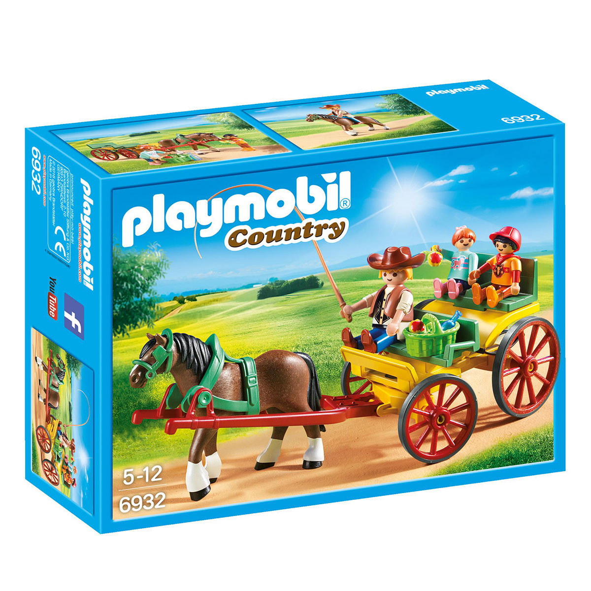 Image of   Playmobil hestevogn