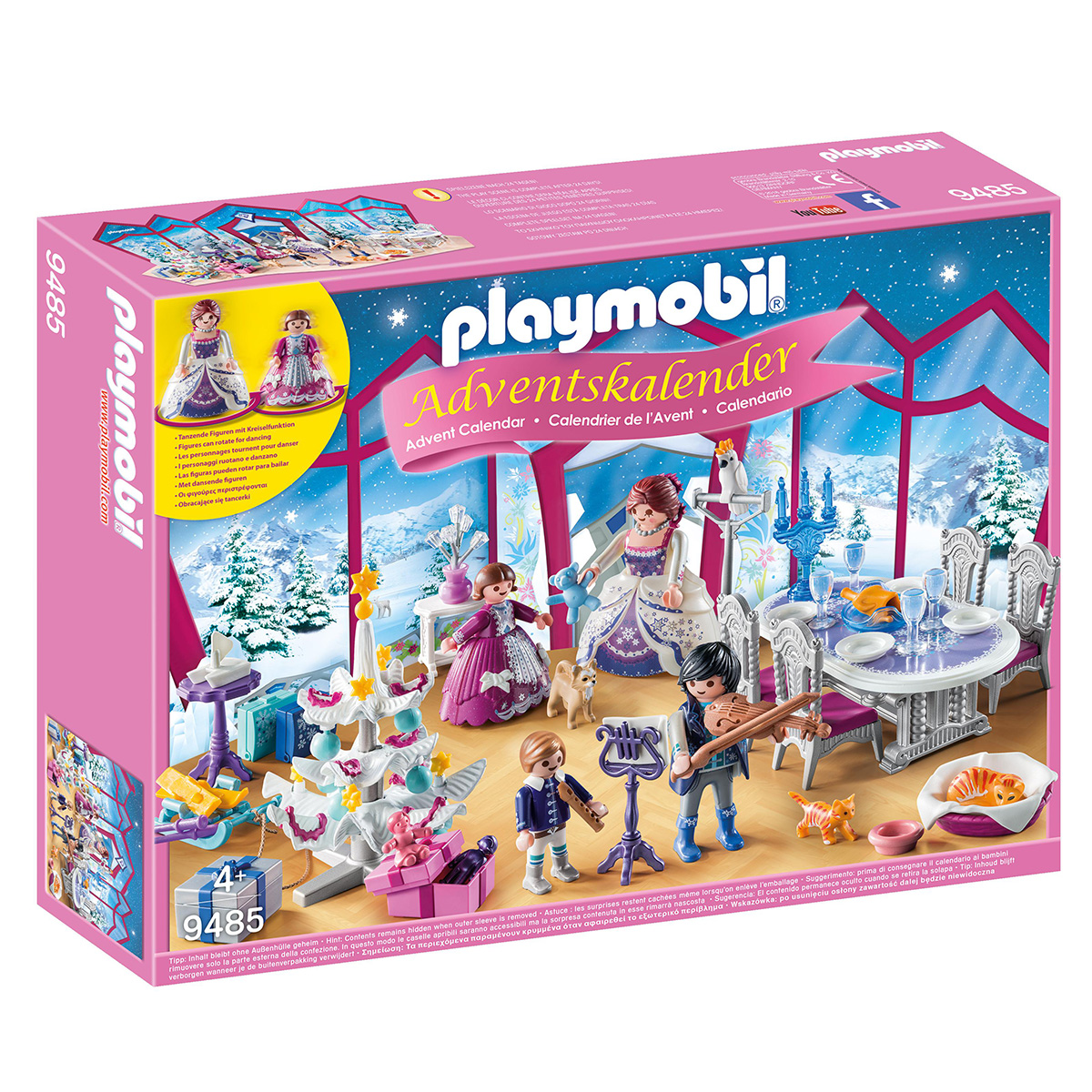 Playmobil julekalender - Julebal i krystalsalen