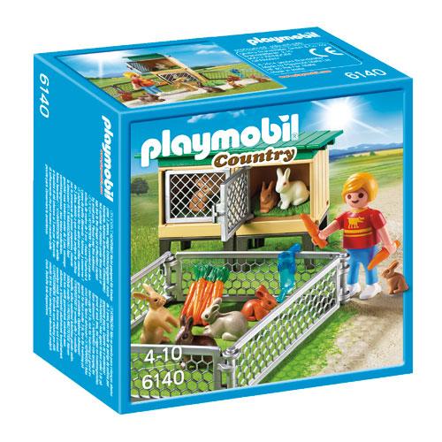 Billede af Playmobil kaninbur med indhegning