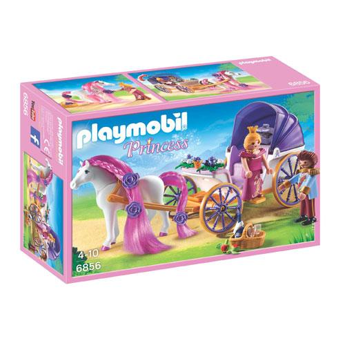 Billede af Playmobil kongeligt par med hestevogn