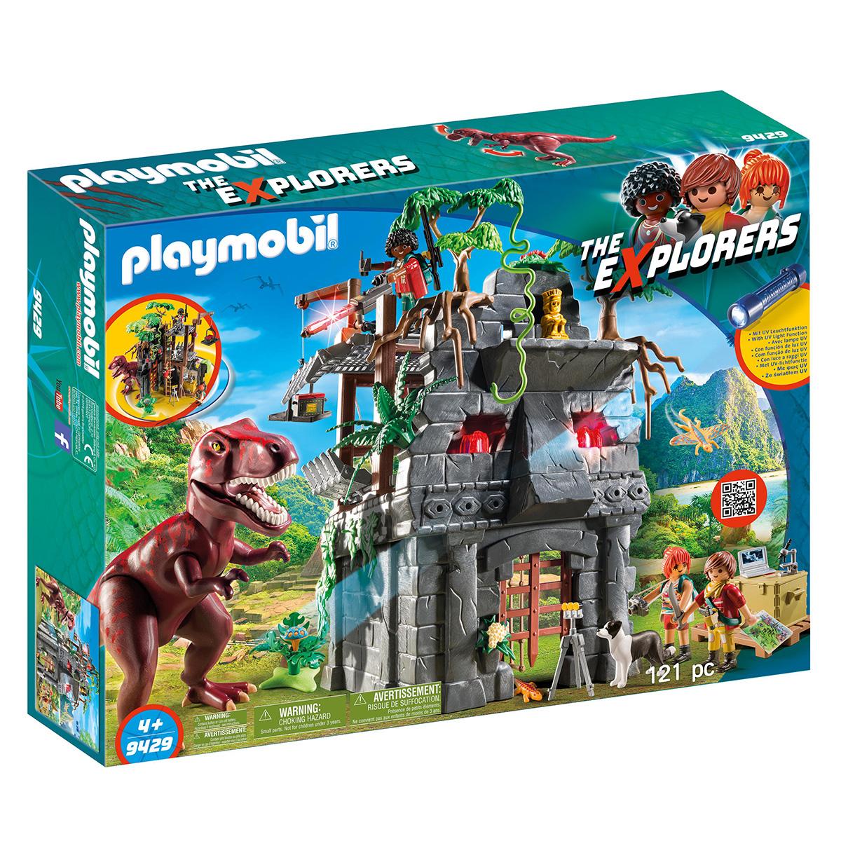 Billede af Playmobil Lejr med T-Rex