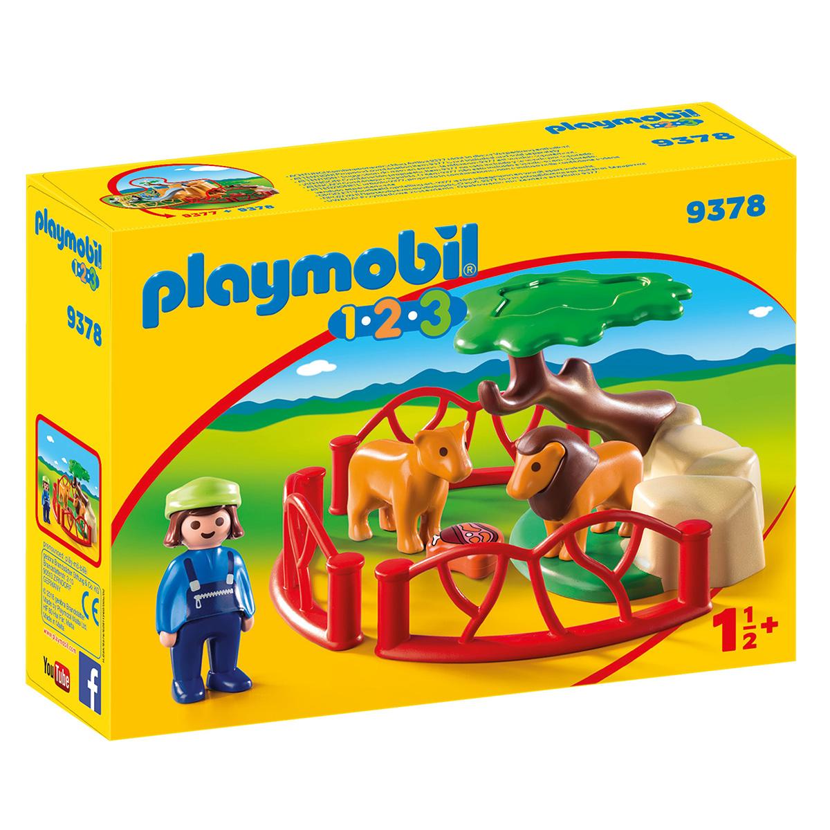 Billede af Playmobil Løveindhegning