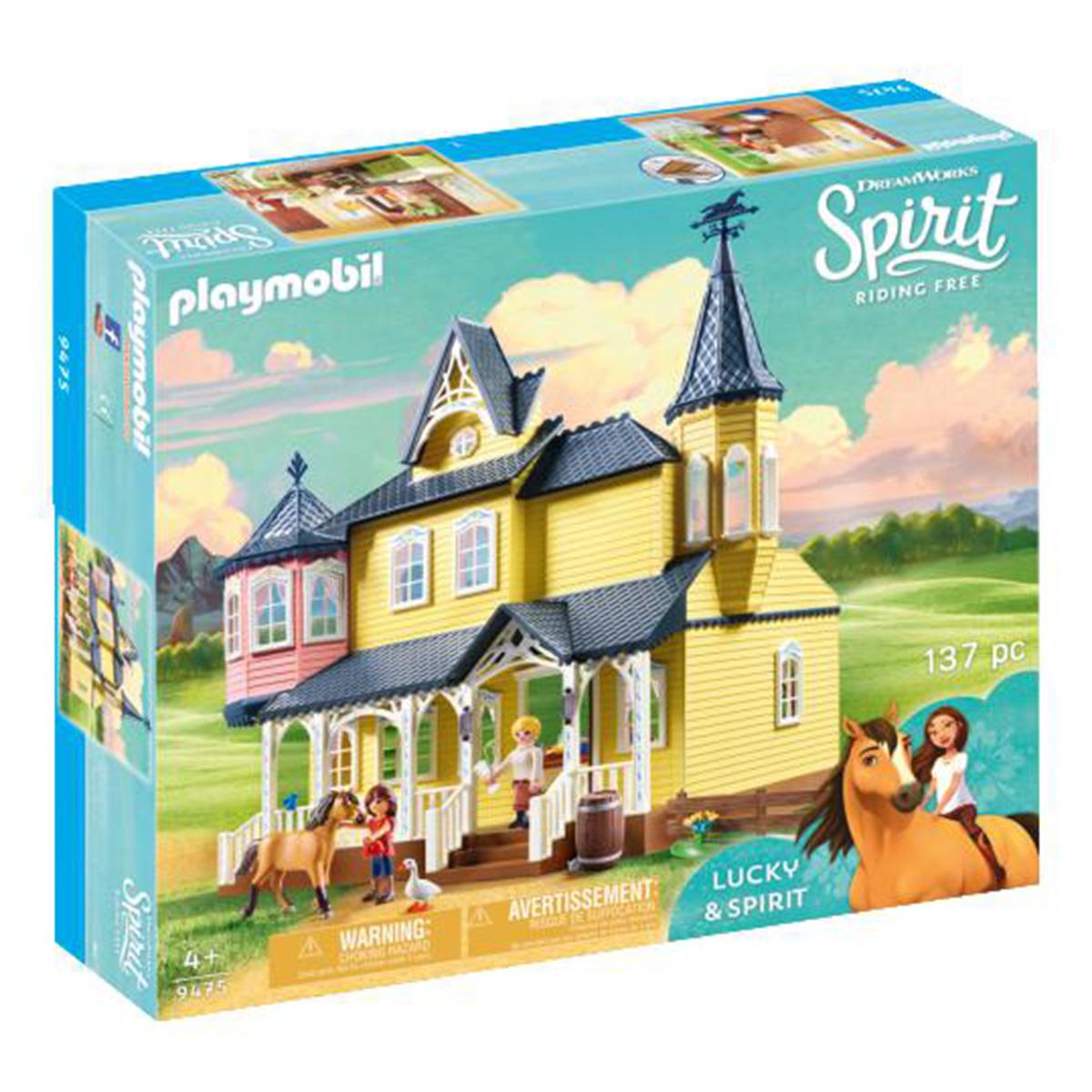 Billede af Playmobil Luckys lykkelige hjem