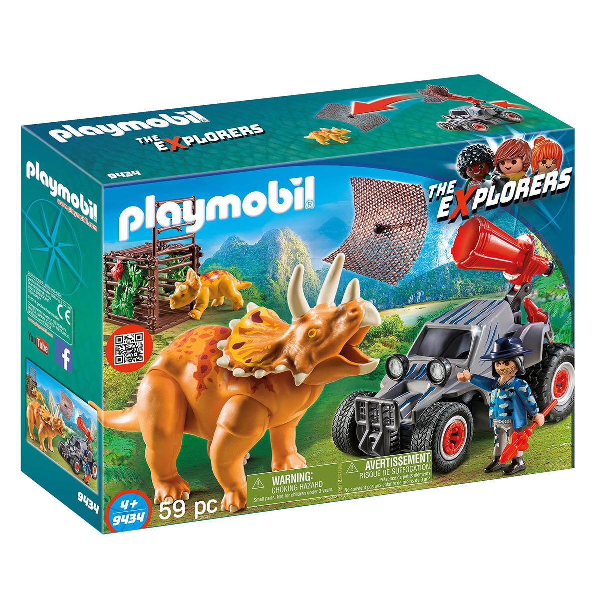Billede af Playmobil Offroader med dinosaurnet