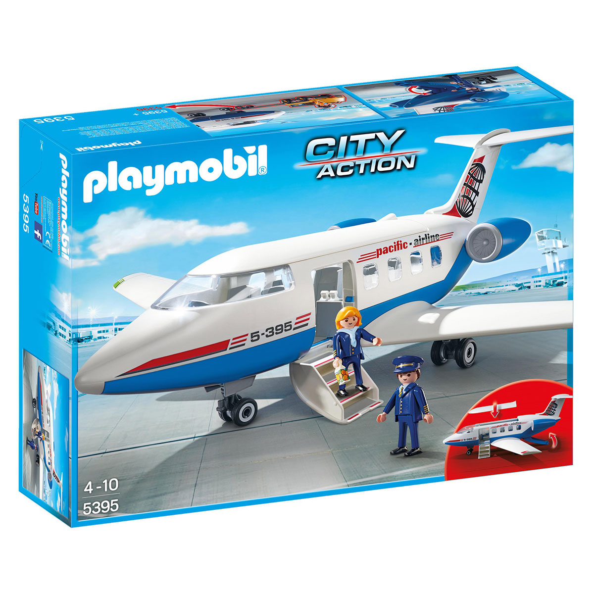 Image of   Playmobil passagerfly