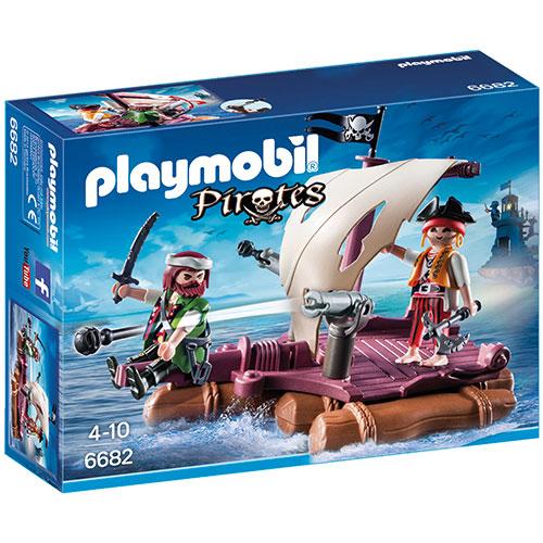 Billede af Playmobil pirat tømmerflåde