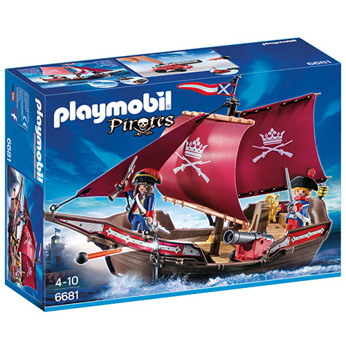 Image of   Playmobil piratskib