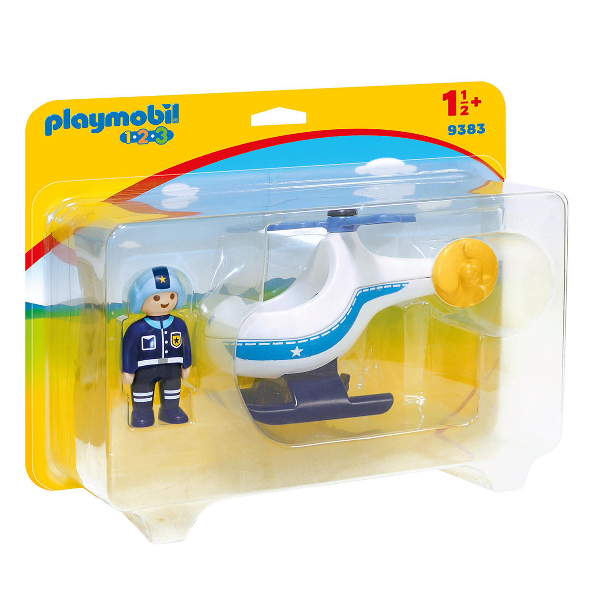Image of   Playmobil Politihelikopter