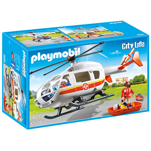 Image of   Playmobil redningshelikopter