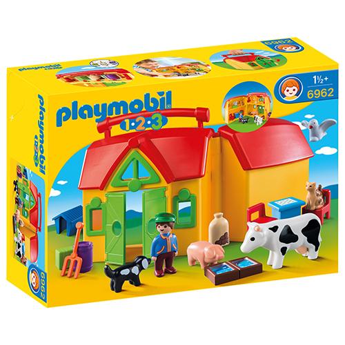 Billede af Playmobil rejsebondegård