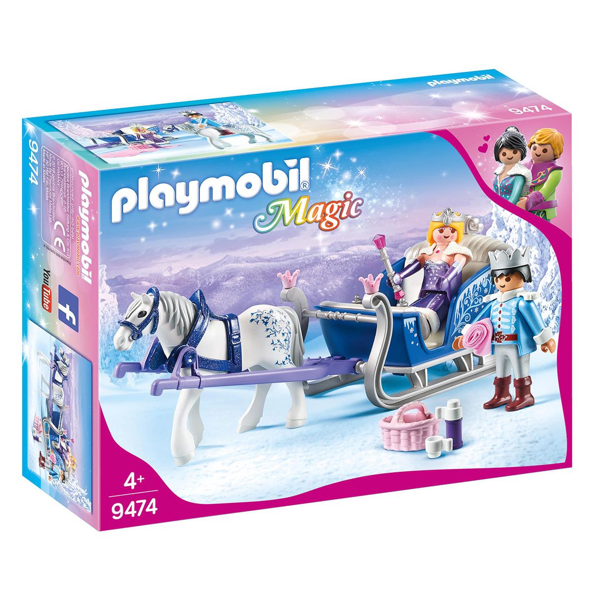 Image of   Playmobil Slæde med kongepar