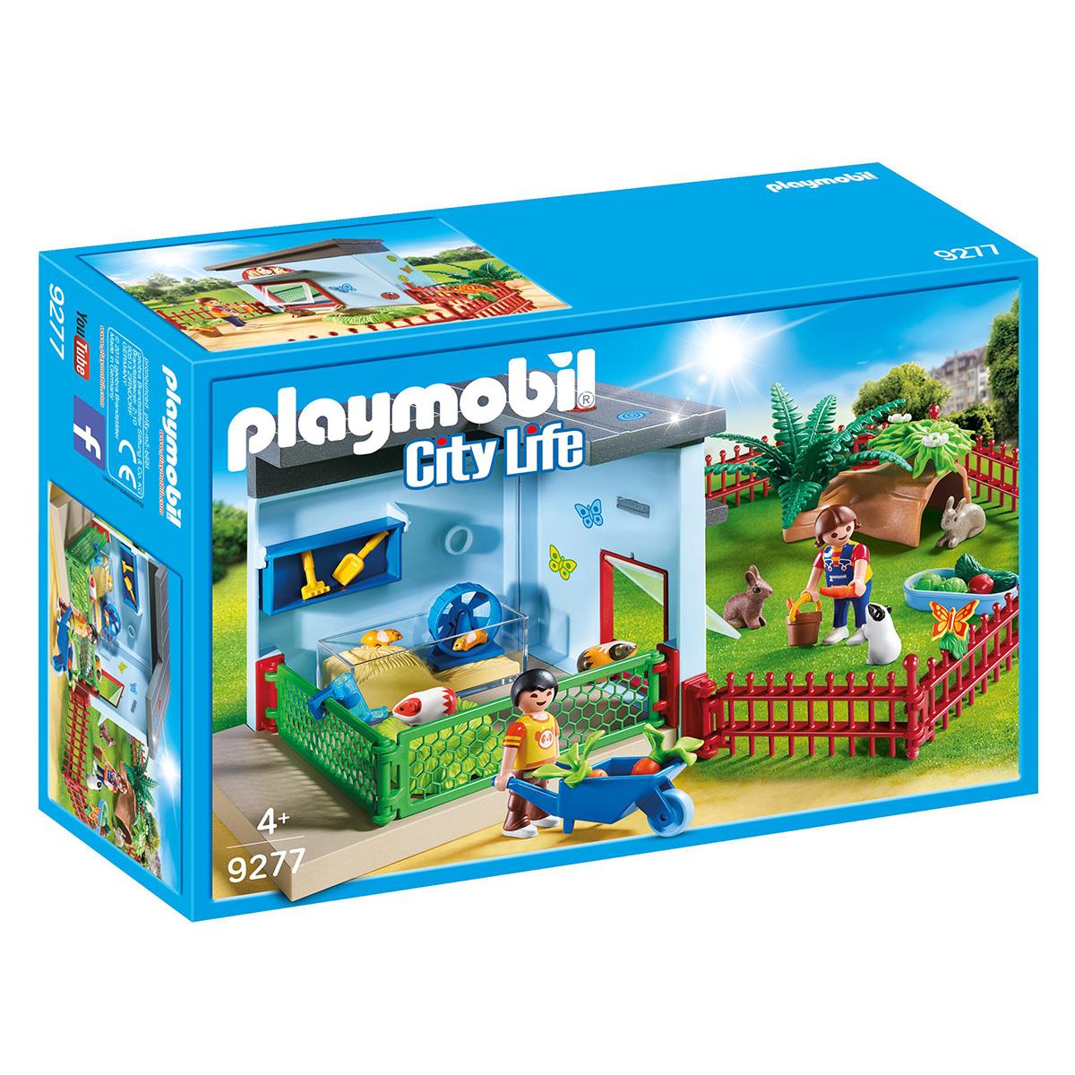Image of   Playmobil Smådyrspension