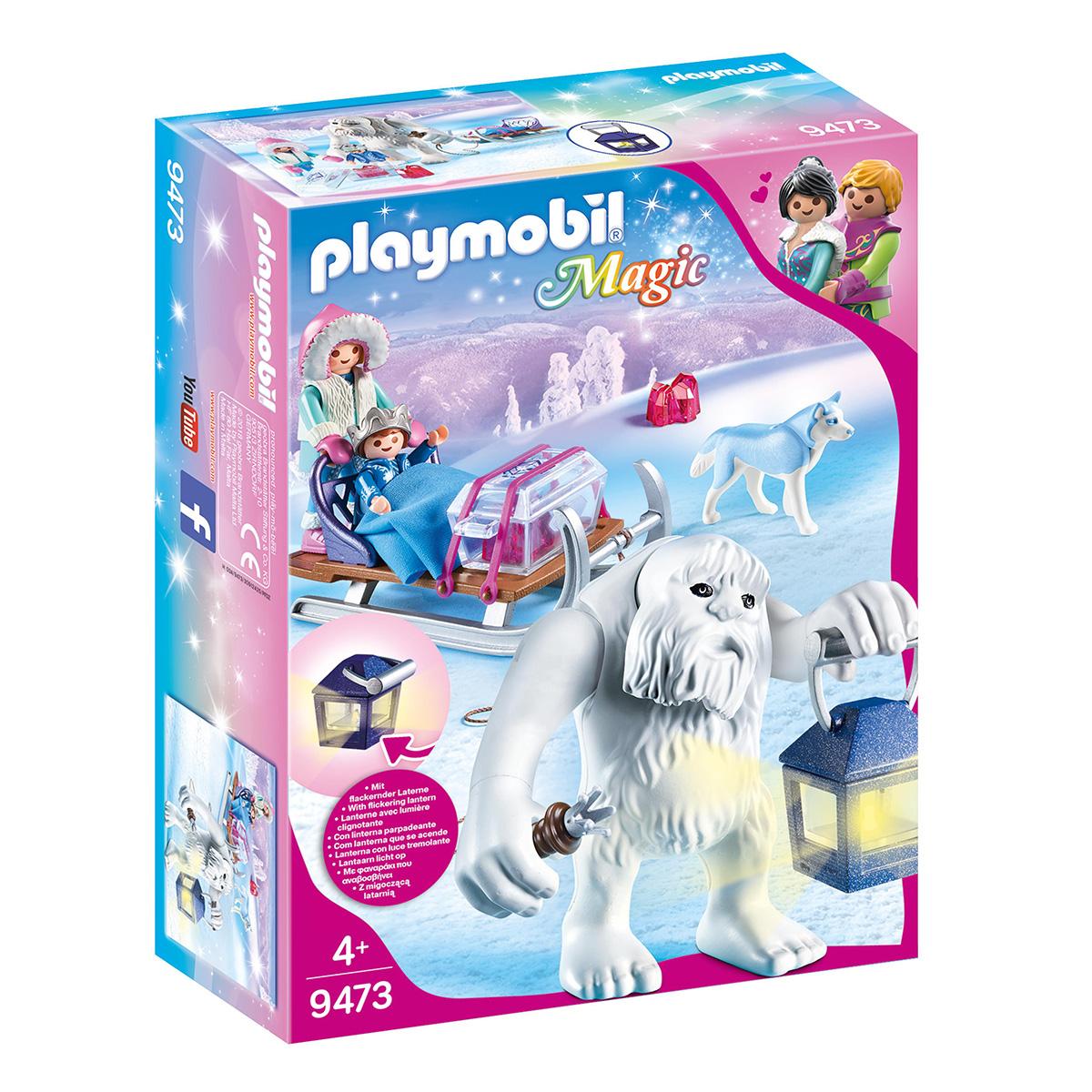 Image of   Playmobil Snetrold med slæde