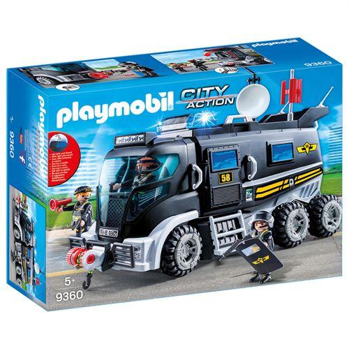 Efterstræbte Playmobil SWAT-truck med lys og lyd 9360 - Coop.dk CD-47