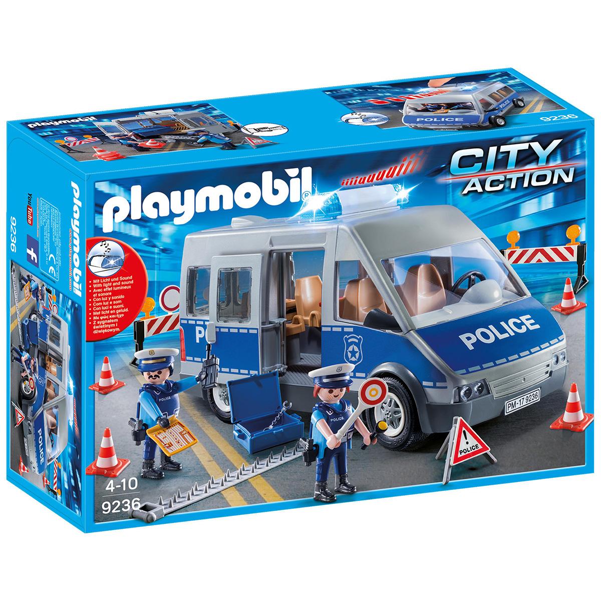 Image of   Playmobil Trafikbetjent med bil