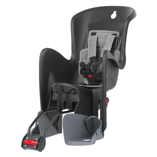 Polisport cykelstol med tilt - Sort