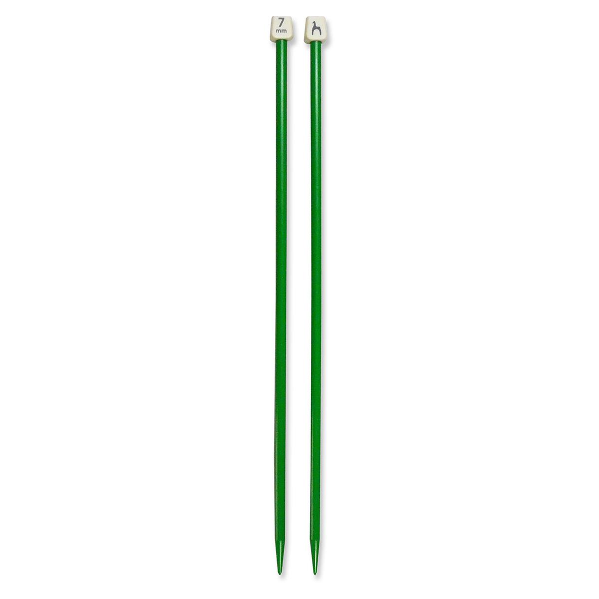 Pony strikkepinde - Nr. 7 - Grøn