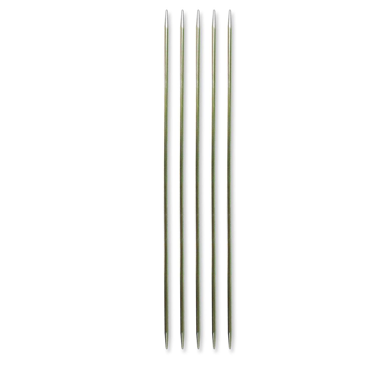 Billede af Pony strømpepinde - Nr. 2,5 - Sølvgrøn