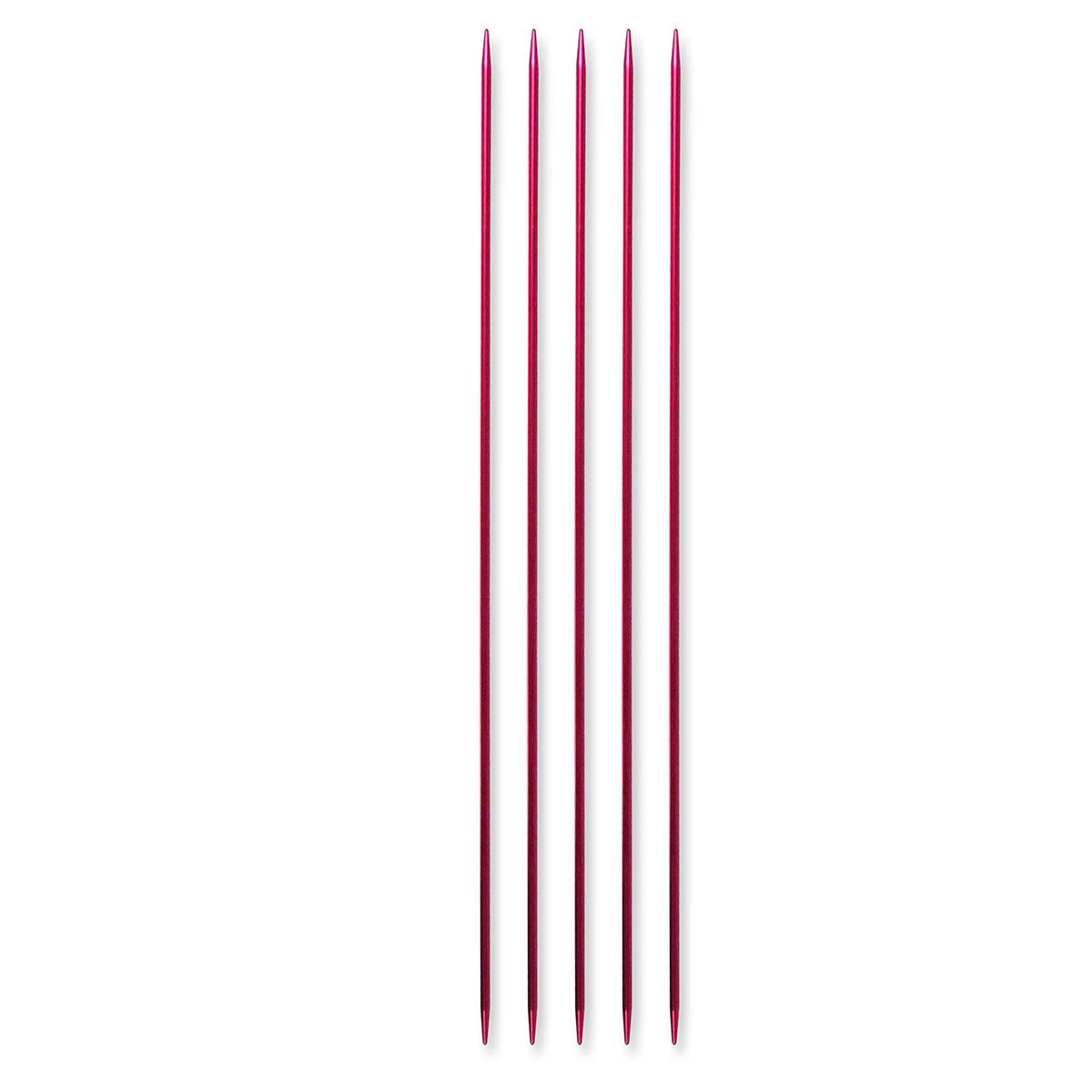 Billede af Pony strømpepinde - Nr. 2 - Rød