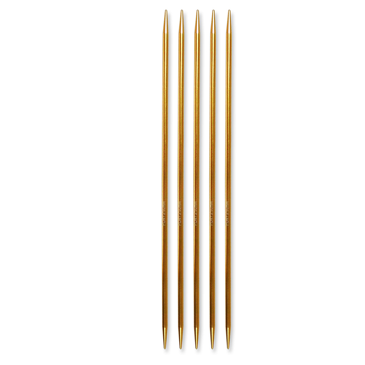 Billede af Pony strømpepinde - Nr. 3,5 - Guld