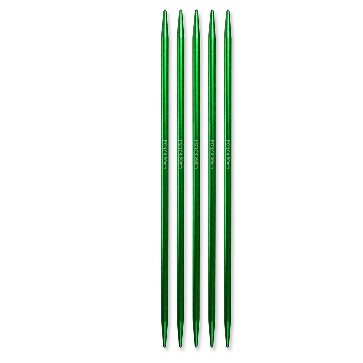 Billede af Pony strømpepinde - Nr. 4,5 - Mellemgrøn