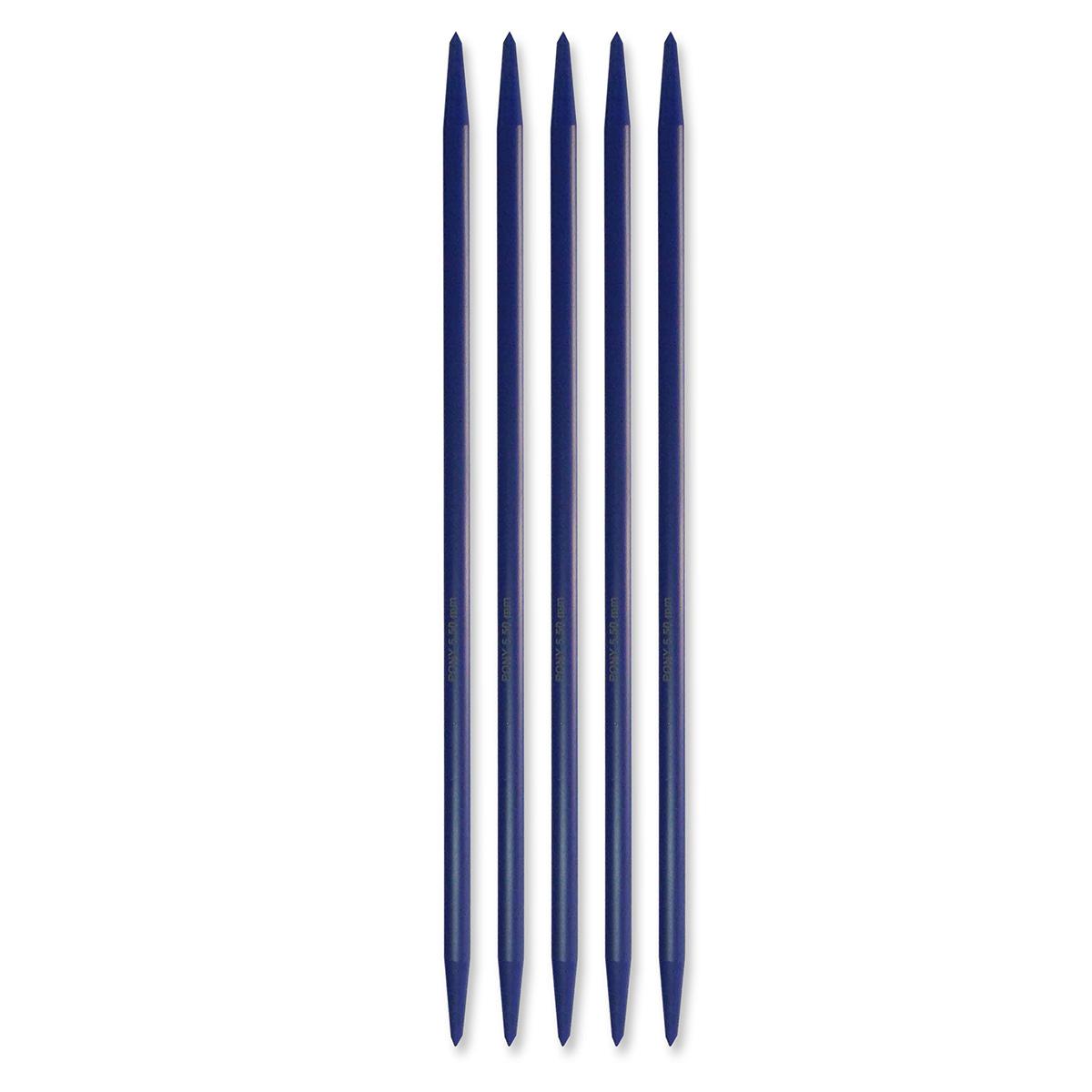 Billede af Pony strømpepinde - Nr. 5,5 - Mørkeblå