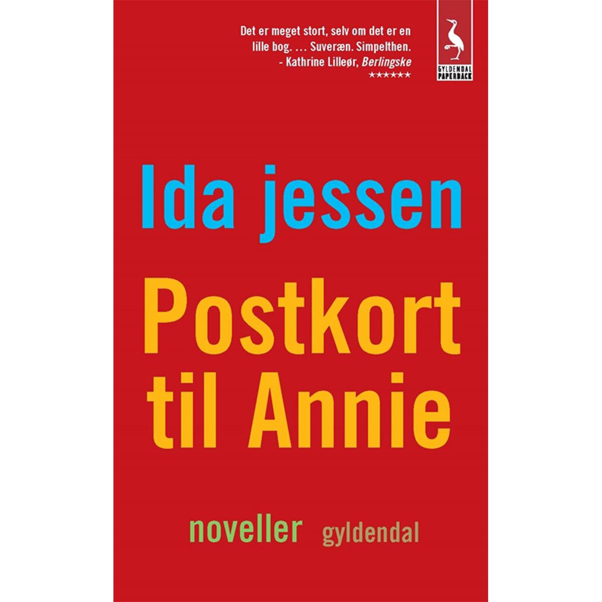 Image of   Postkort til Annie - Paperback