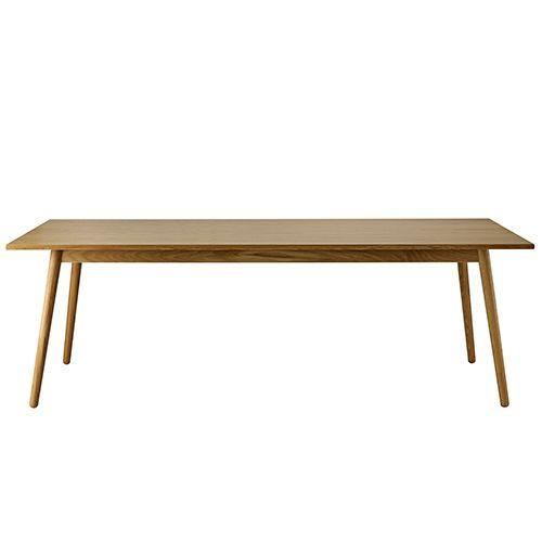 Frisk Poul M. Volther 8 pers. spisebord - C35C - Eg FDB Møbler JO-37