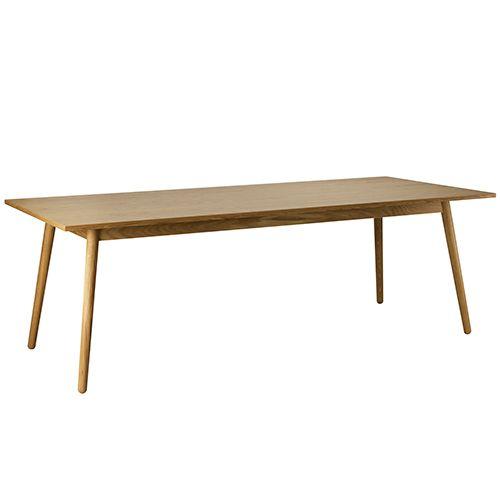 Vellidte Poul M. Volther 8 pers. spisebord - C35C - Eg FDB Møbler JB-99