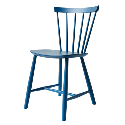 Billede af Poul M. Volther stol - J46 - Blå