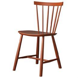 Image of   Poul M. Volther stol - J46 - Brændt rød
