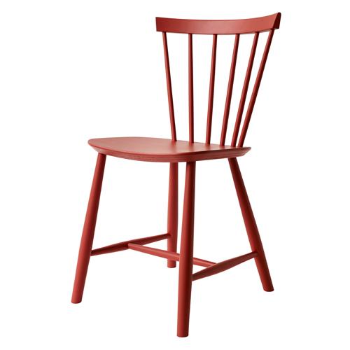 Billede af Poul M. Volther stol - J46 - Rød