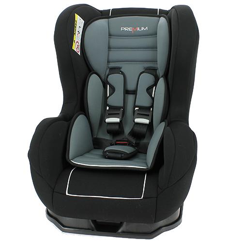Billede af Premium autostol - Cosmo - Sort/grå - 0-18 kg