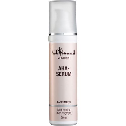Image of   Pudderdåserne AHA-serum - 50 ml