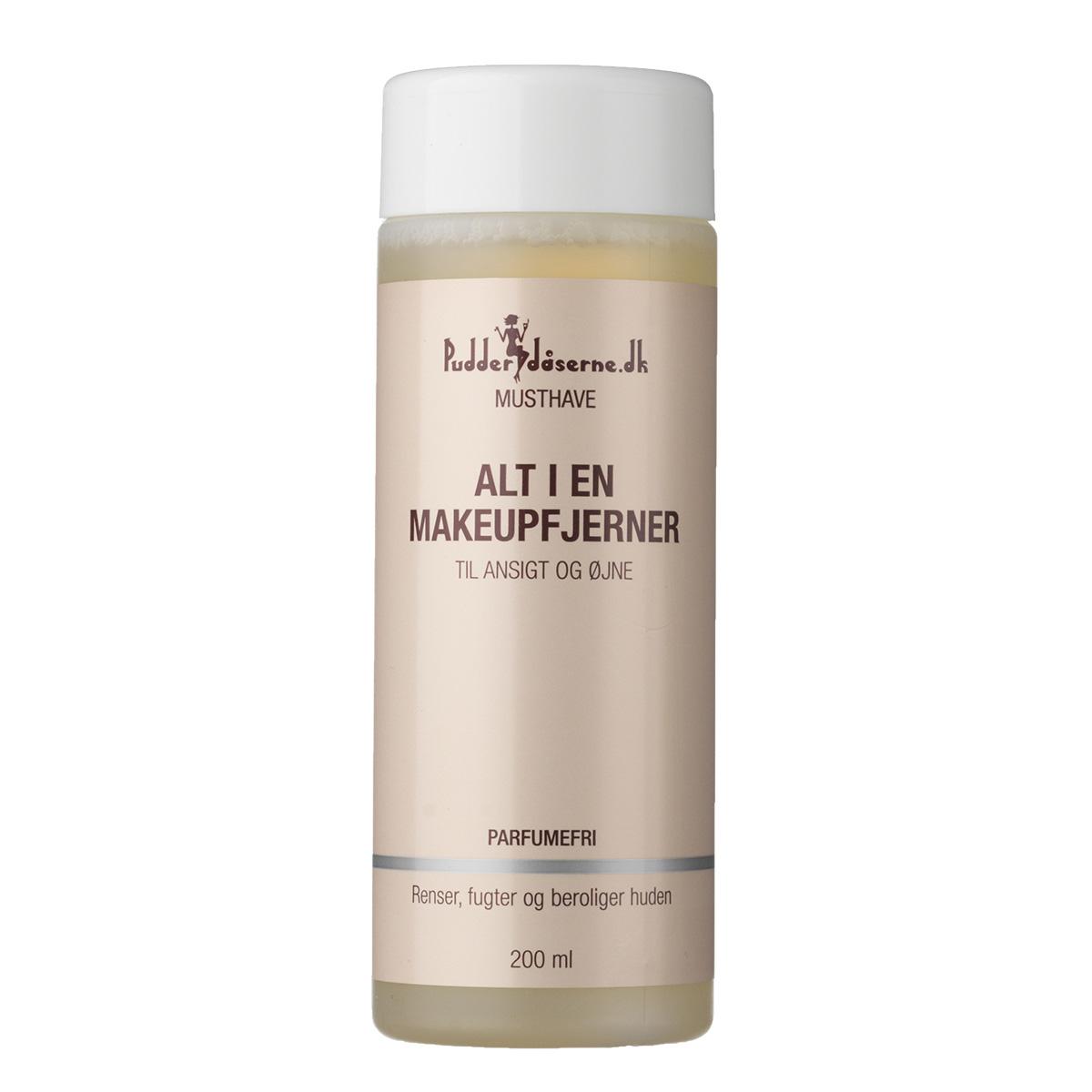Pudderdåserne alt-i-en makeupfjerner - 200 ml
