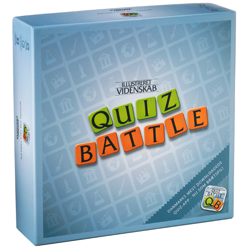 Image of   Quiz Battle familiespil