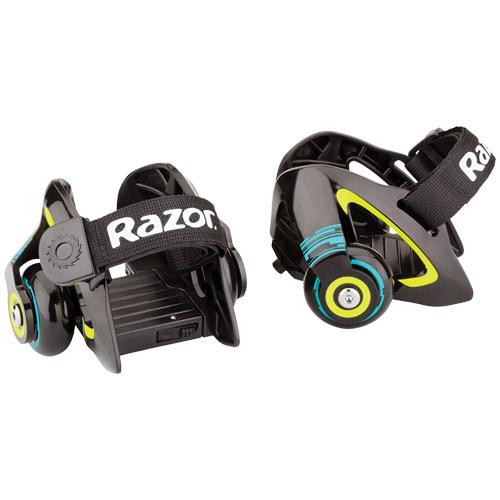 Image of   Razor JETTS hjul til sko - Sort/grøn