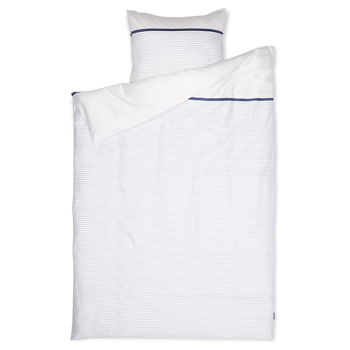 Image of   Redgreen sengetøj - Hvid og blå