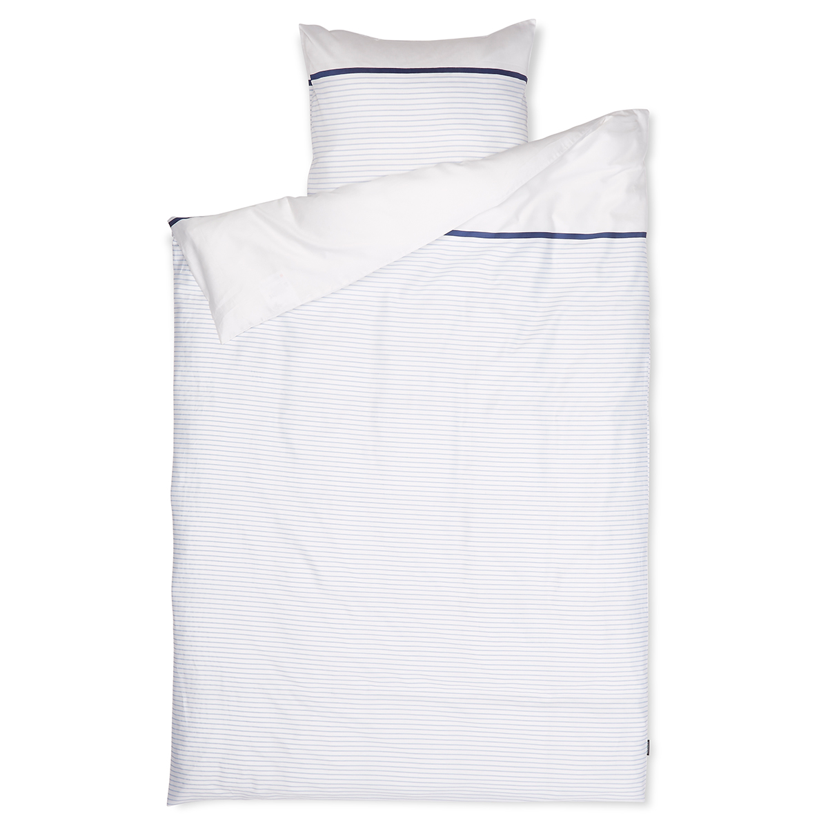Billede af Redgreen sengetøj - Hvid og blå