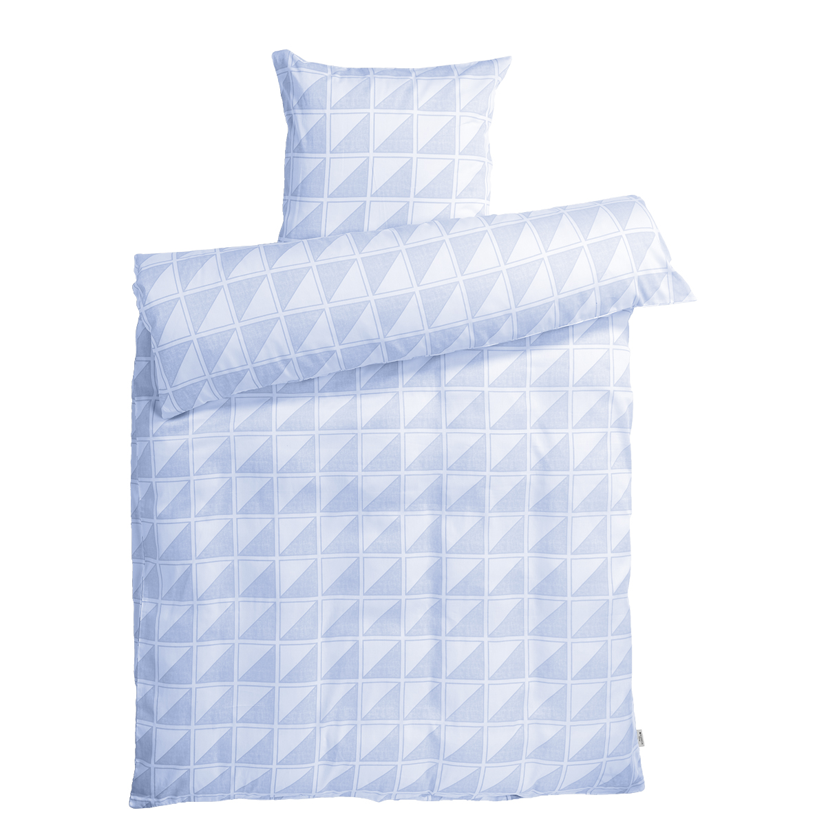 Billede af Redgreen sengetøj - Hvid og lyseblå