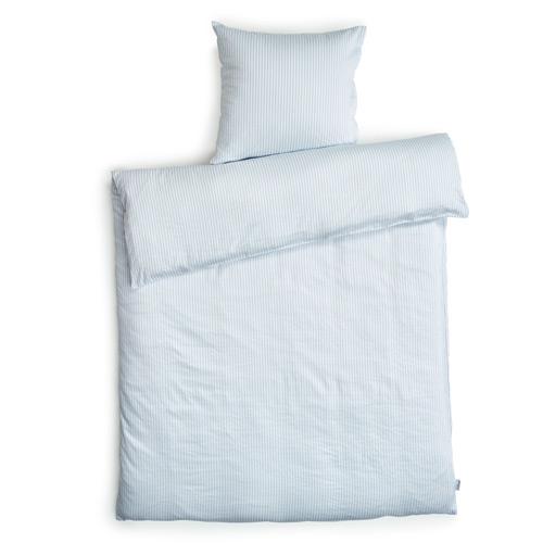 coop sengetøj Redgreen sengetøj   Lyseblå og hvide striber Bomuldssatin   140  coop sengetøj