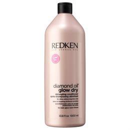Image of   Redken Diamond Oil Glow Dry Conditioner - 1000 ml