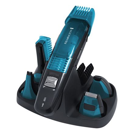 Remington Vakuum multitrimmer kit - PG6070 5-i-1 Grooming kit med 5 trimmerhoveder