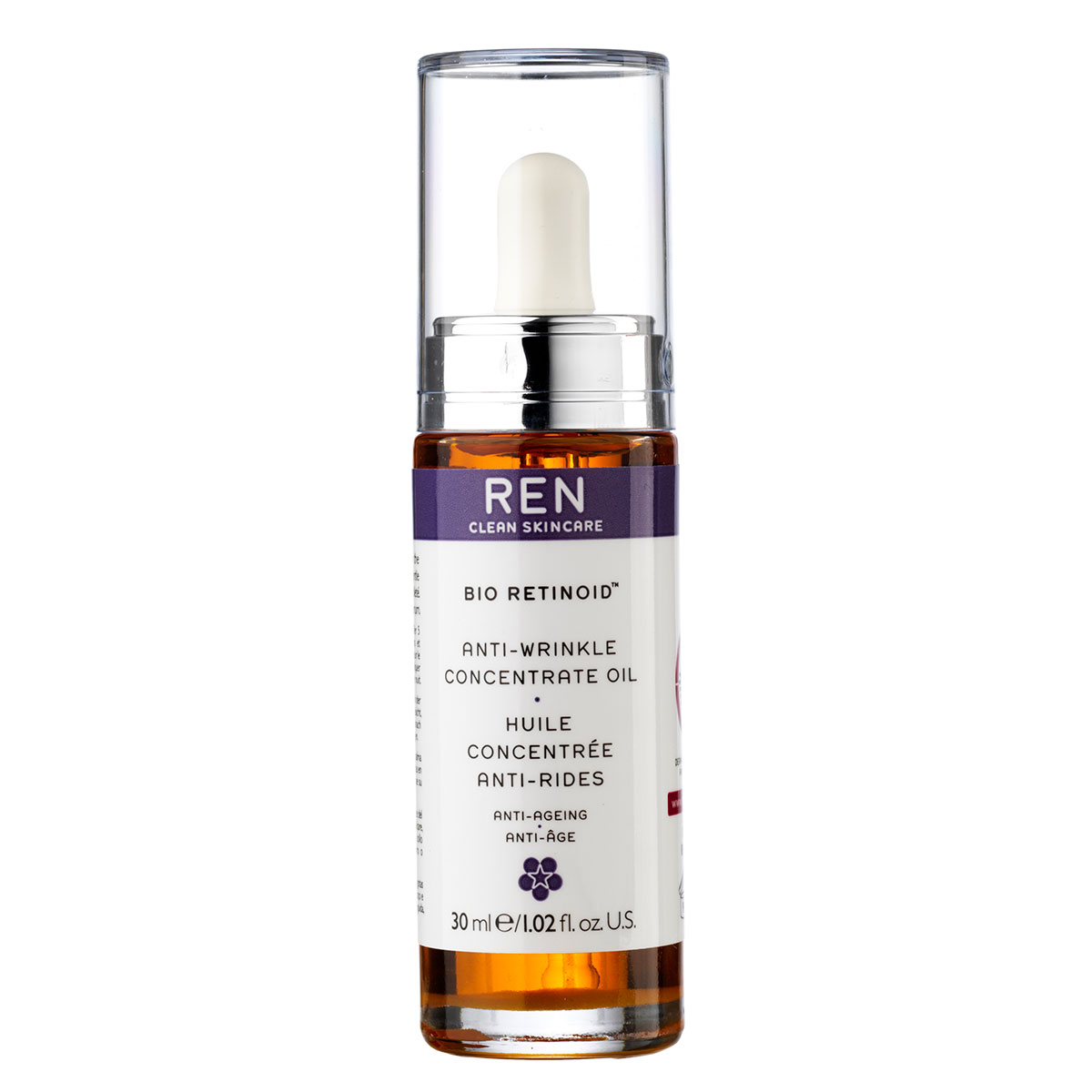 Image of   REN Bio Retinoid Anti-Wrinkle Concentrate Oil - 30 ml